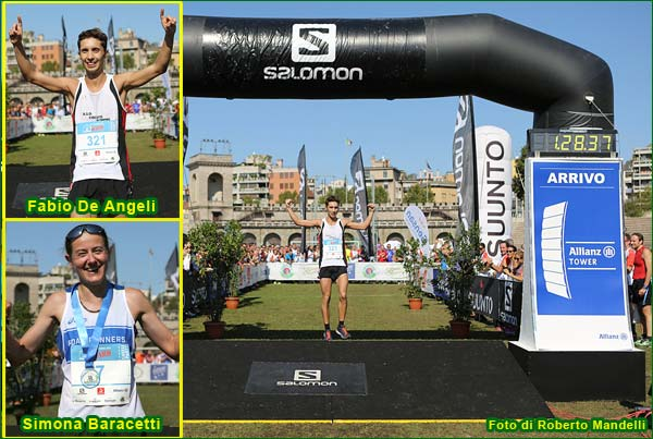 Milano Salomon City Trail 2015 collage 1 foto Roberto Mandelli