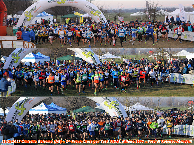 Cinisello B Cross Per Tutti 2017 collage foto Roberto Mandelli